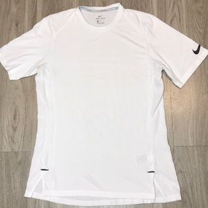 Men's white Nike basketball T-shirt